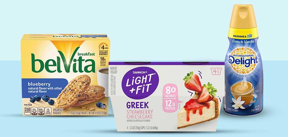 BELVITA, Light & Fit & International Delight