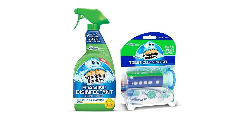 Scrubbing Bubbles image