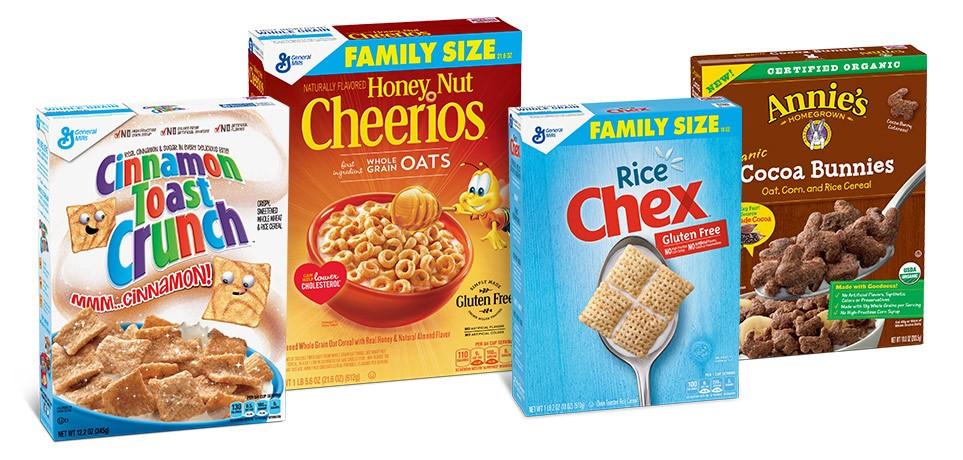 General Mills Cereal image