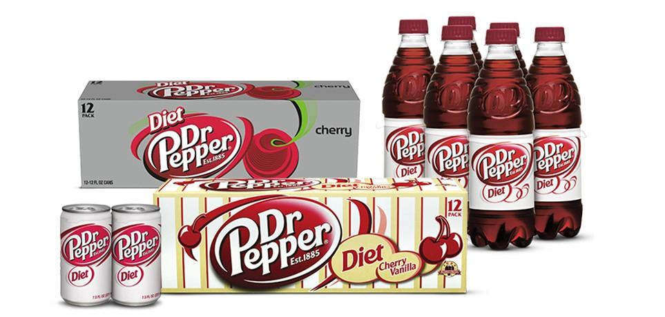Diet Dr Pepper image
