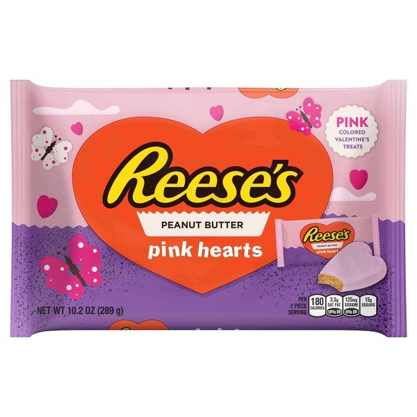 Reese's Pink Hearts Snack Size product image