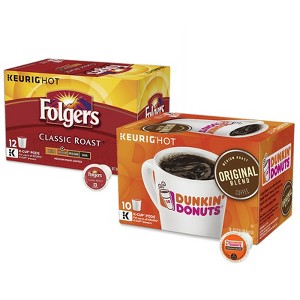 Dunkin' Donuts and Folgers Coffee