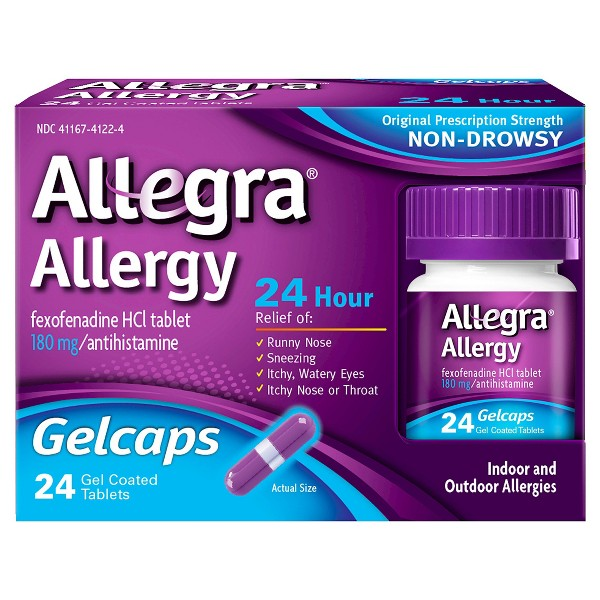 Allegra Allergy Adult & Childrens product image