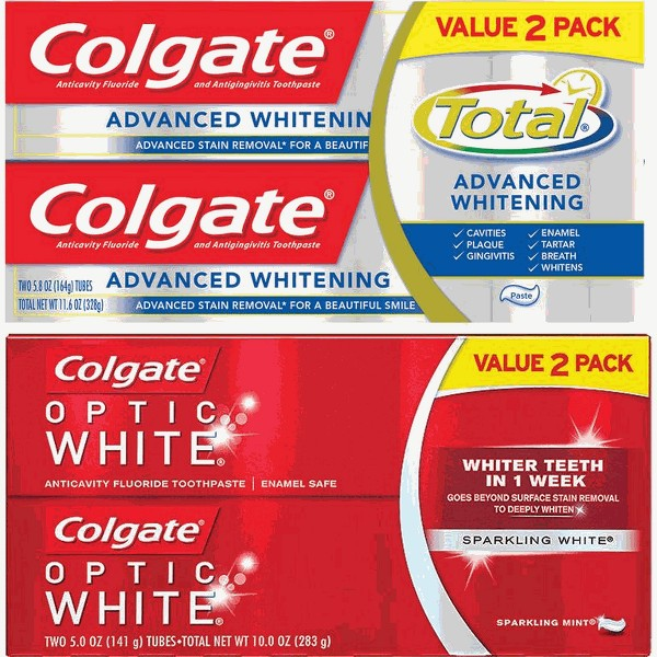 Colgate Twin Packs Toothpaste product image