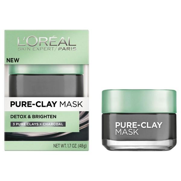 L'Oreal Paris Pure-Clay Masks product image