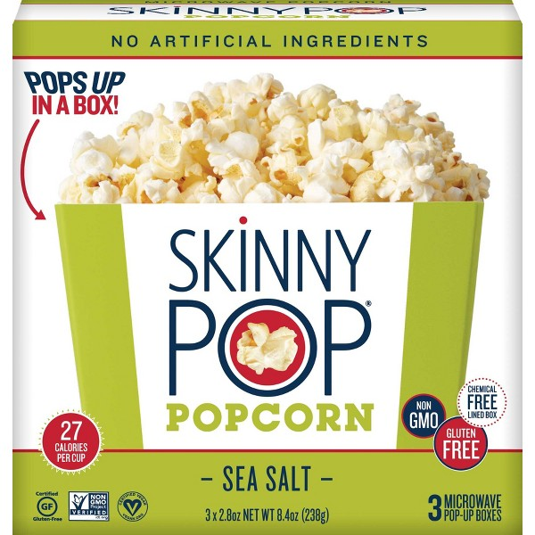 SkinnyPop Microwave Popcorn Bowls product image
