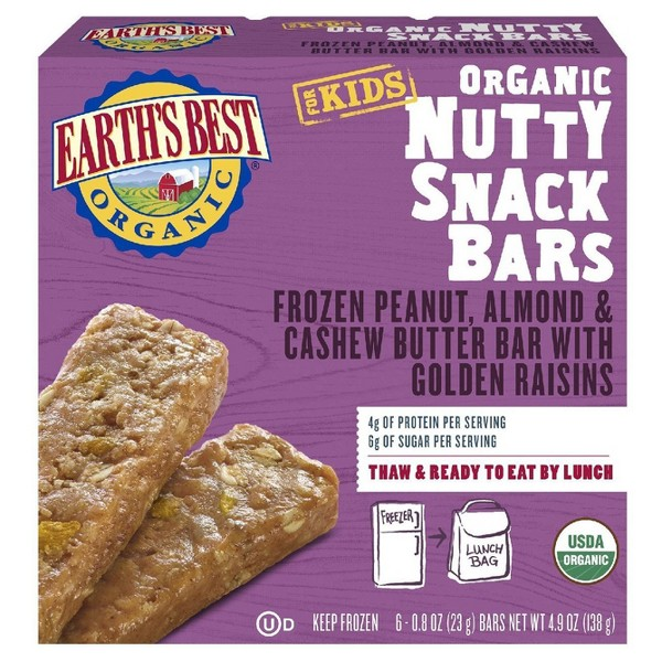 Earth's Best Frozen Snack Bars product image