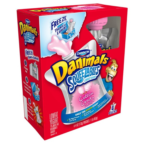 Danimals Pouches product image