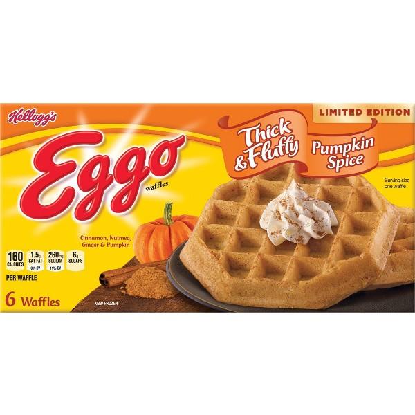 Eggo Pumpkin Spice Waffles product image