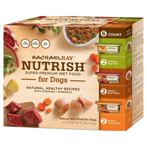 Rachael Ray Wet Dog Food 6pk product image