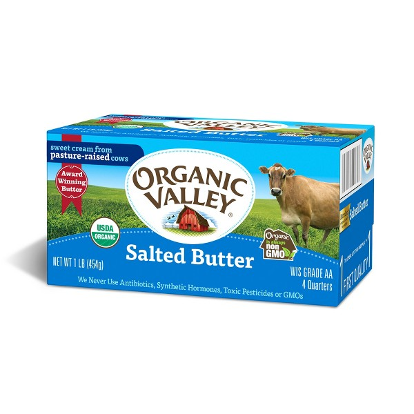 Coupons for organic valley butter