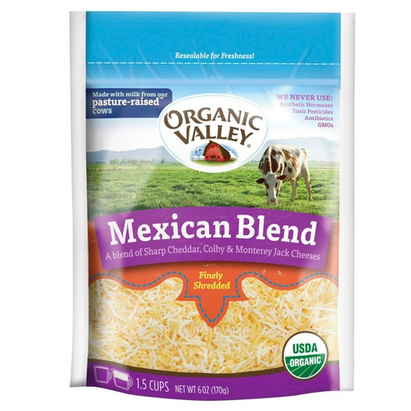 Organic Valley Shredded Cheese product image
