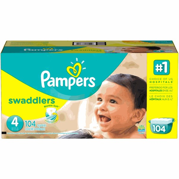 Pampers Swaddlers Diapers product image