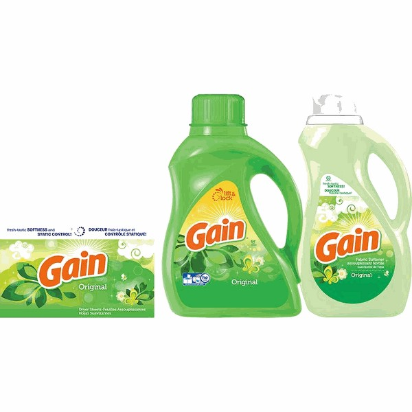 Gain Detergent or Fabric Softener product image