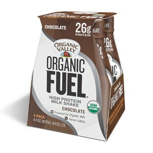 Organic Fuel High Protein Shakes