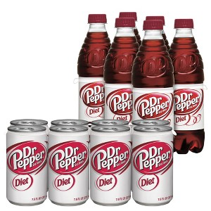 Diet Dr Pepper & TEN Soda