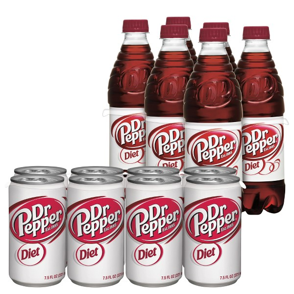 Diet Dr Pepper & TEN Soda product image