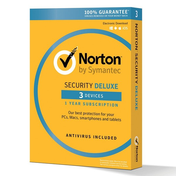 Norton Symantec Security Deluxe product image