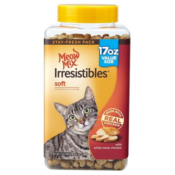 Meow Mix Irresistibles product image