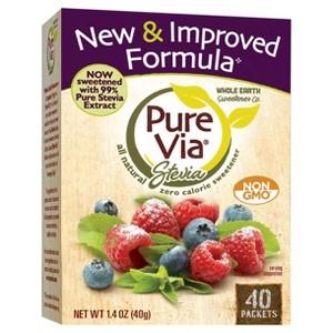 Pure Via All-Natural Sweeteners