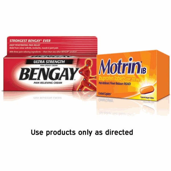 Motrin or Bengay product image