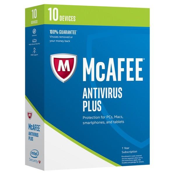 McAfee 2017 Antivirus Plus product image