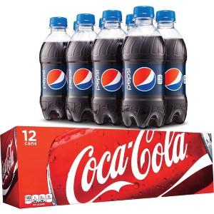 Target Cartwheel: Extra 50% Off All 12 Pk & 8 Pk Sodas