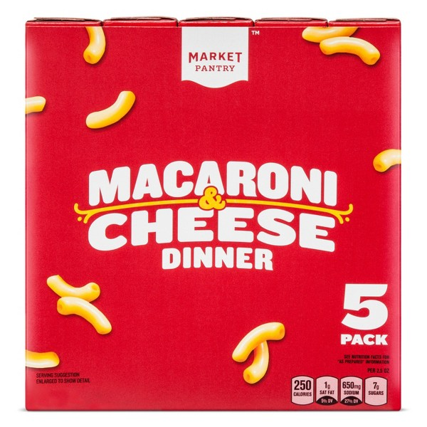 Market Pantry 5 Pack Mac & Cheese product image