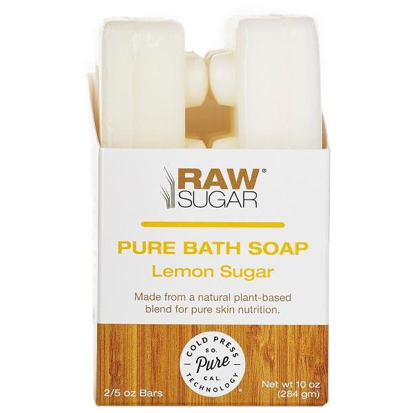 RAW SUGAR Pure Bar Soap 2 Pack product image