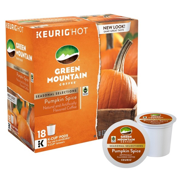 Green Mountain Pumpkin Spice K-Cup product image