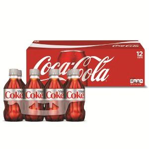 Coke 12pk Cans & 8pk 12oz Bottles