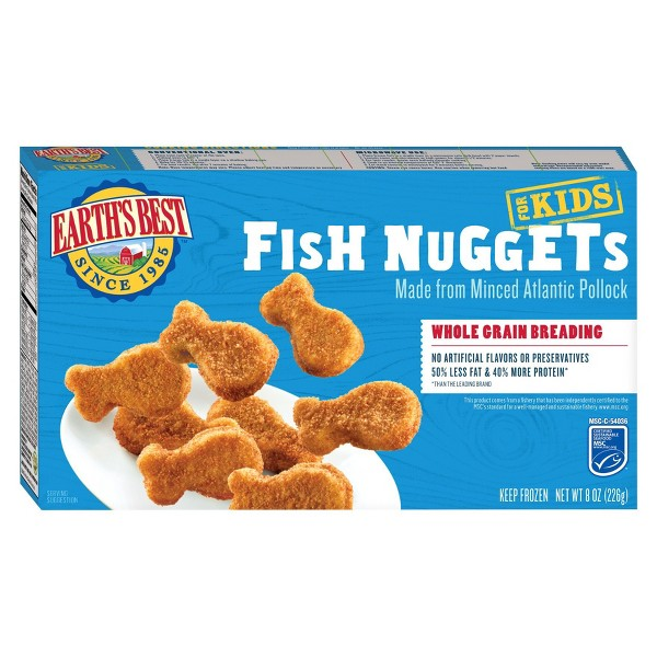 Earth's Best Fish Nuggets 8 oz product image