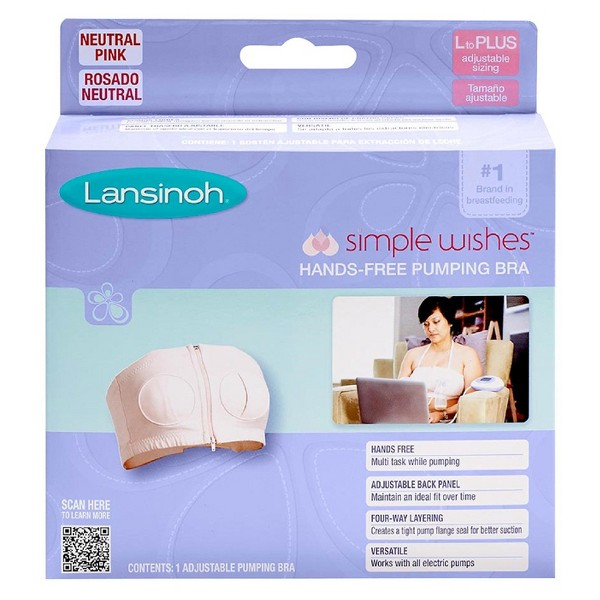 Lansinoh Simple Wishes Pumping Bra product image