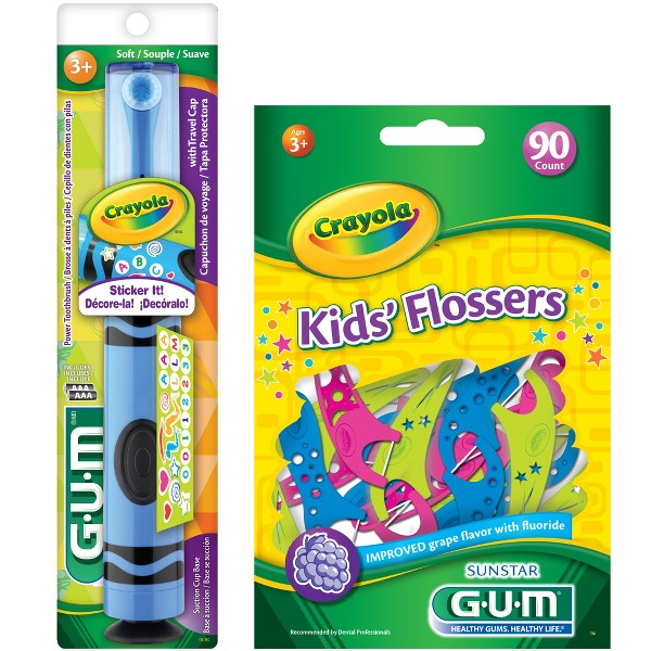 Gum Crayola Kids' Oral Care product image