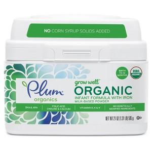 Plum Organics Formula