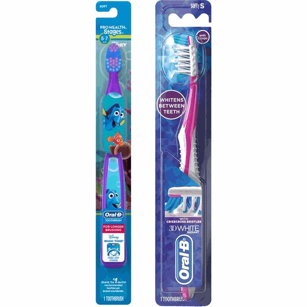 Oral-B Adult or Kids Toothbrush product image
