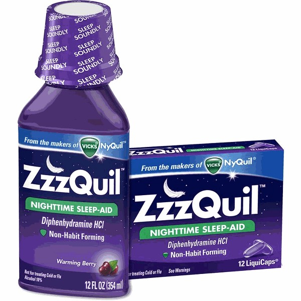 ZzzQuil product image