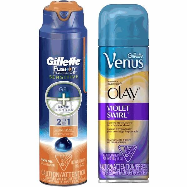 Gillette or Venus or Satin Care product image