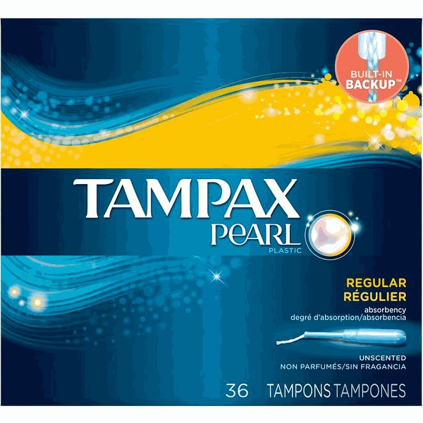 Tampax Pearl or Radiant Tampon product image