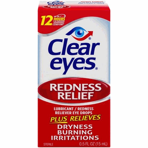 Clear Eyes Eye Drops product image