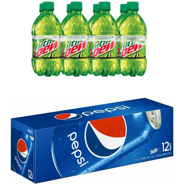 Pepsi Cans & Bottles product image