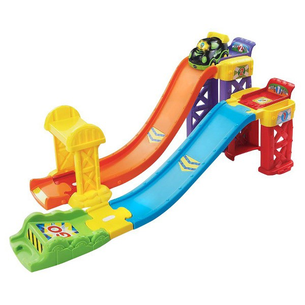 2-in-1 Launch & Play Raceway product image
