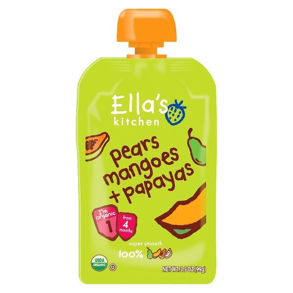 Ella's Kitchen Pear Mango Papaya product image