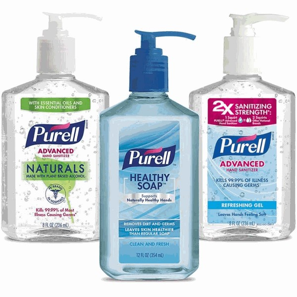 Purell Soap or Hand Sanitizer product image