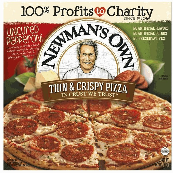 Newman's Own Thin & Crispy Pizza product image