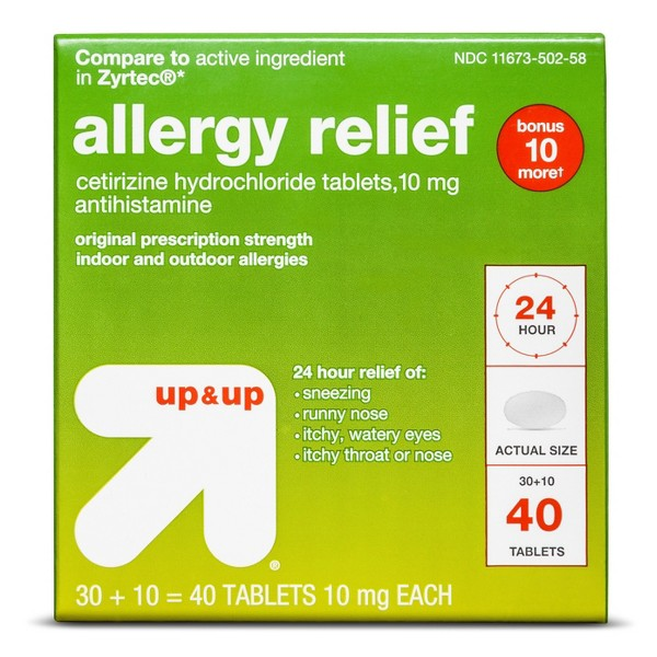 up & up Allergy Relief product image