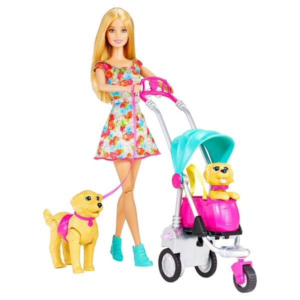 Barbie Strollin' Pups product image