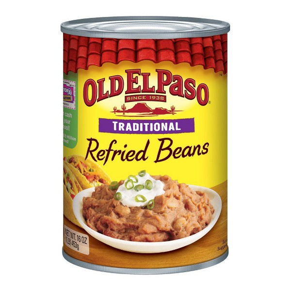 Old El Paso Refried Beans product image