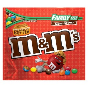 M&Ms Family Size Chocolate Bags