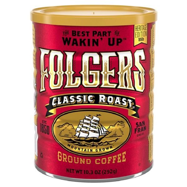 Folgers Classic Roast Vintage Tin product image